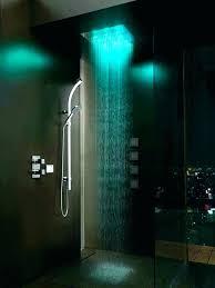 shower heads light up shower head light shower heads that light up rain shower head with
