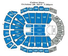 Sprint Center Detailed Seating Chart Seating Chart Jiniprut On Pinterest