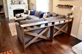 sofa table decor. New Rustic Sofa Table Ideas Decor D