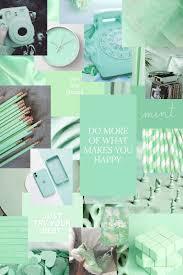 aesthetic mint green