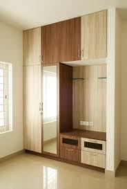 Dual Colour Wardrobe Designs Bedroom 1 Asian By Ashpra Interiors Asian Bedroom