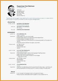 Blank Resume Form Unique Resume Builder Free Print Free Templates