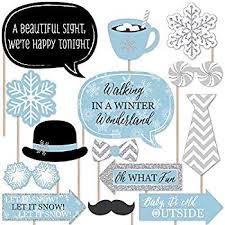 LASLU Christmas Photo Props Snowman <b>Christmas Winter</b> Holiday ...
