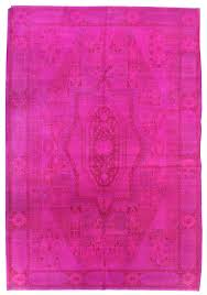 overdyed and patchwork rug gallery pink overdyed rug hand knotted in china