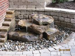 hand carved natural stone fountains