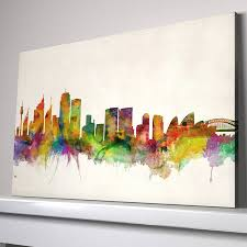 vintage background large canvas sydney