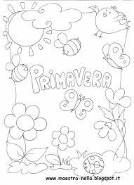 Maestra Nella Primaverapoesia Illustrata Primavera Fiore Di