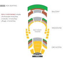 Walt Disney Theater Orlando Seating Chart Subscriptions Orlando Ballet