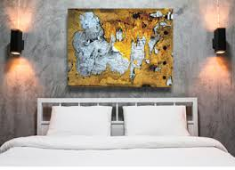 abstract canvas art wall art industrial yellow black white  on black and cream wall art uk with large modern abstract canvas wall art sacrificial time large