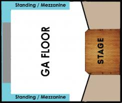 The Van Buren Venue Seating Chart The Van Buren Phoenix Seating Chart Best Picture Of Chart