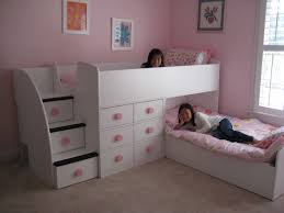 Girls Twin Beds with Drawers — Modern Storage Twin Bed Design