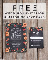 wedding invite template download free whimsical wedding invitation template mountain modern life