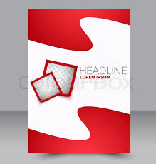 Brochure Graphic Design Background Abstract Flyer Design Background Stock Vector Colourbox