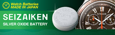Watch Battery Chart Dimensions Seizaiken Mercury Free Silver Oxide Battery Seiko