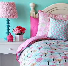 Pink And Green Girls Bedroom Tween Girl Bedroom Ideas With Blue Walls And Pink Bedding Girls