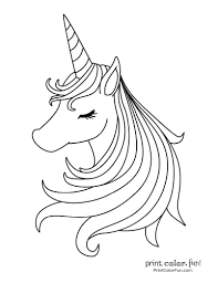 This item is free for personal use only. 100 Magical Unicorn Coloring Pages The Ultimate Free Printable Collection At Print Colo Unicorn Coloring Pages Puppy Coloring Pages Mermaid Coloring Pages