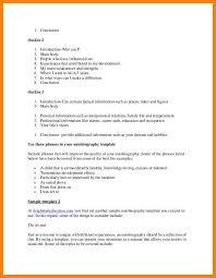 auto biography outline - Tolg.jcmanagement.co