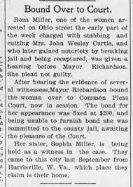 Mrs. John Wesley Curtis stabbed and cut - Newspapers.com