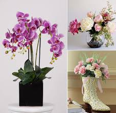 Flowers Decoration For Home For Exemplary Flower Decoration Ideas Artificial Flower Decoration For Home