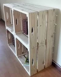 pallet crate furniture. Pallet Crate Wall Unit - Creator Creations Custom Furniture Crafts D