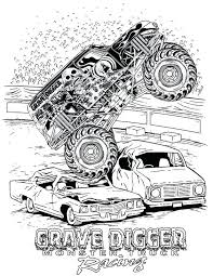 Race Truck Coloring Pages Dr Schulz