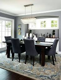 dark wood dining room table and chairs wonderful color dining table set furniture grey blue dark