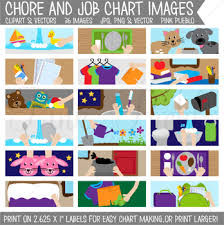 Chore Chart Clipart Printable Chore Chart For Kids Chore Chart Clip Art