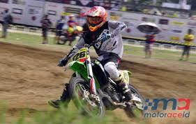 moto 1. zulmi juara moto 1, banyu masih memimpin di mx2 novice 1