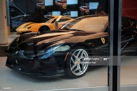 Cars Are Displayed At A Ferrari Dealer On Park Avenue In Manhattan On News Photo Getty Images