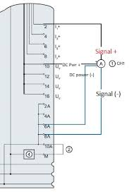 sensor wiring to a siemens 6es7134 6gf00 0aa1 plcs net if you don t use the dc power connections on the ai card you risk having a ground loop between the 4 wire device and the ai card which could appear as an