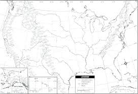 Usa State Map Printable Large Blank Map Of The United States Large