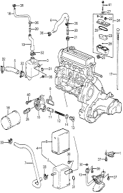 15205 pc6 014 genuine honda gasket oil filter base rh hondapartsnow 1995 honda accord 1985 honda accord engine diagram
