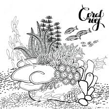 Coral Reef Coloring Page Elegant Ultimate Pages Reefs Downloa 5768