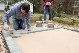 putting down pavers. Wonderful Putting Laying Patio Pavers For Putting Down O