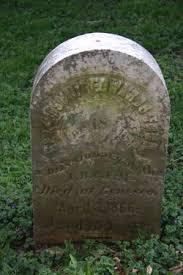 Rev Joshua Edward Ford (1825-1866) - Find A Grave Memorial