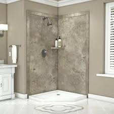 flexstone shower flexstone bath surround installation