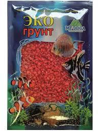 <b>Цветная мраморная крошка Эко</b> грунт 2-5mm 1kg Lilac Red 500055