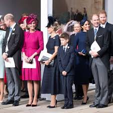 For her own wedding, her beautiful bridal look came courtesy of british designer claire weight keller on behalf the french luxury fashion house. Meghan Markle And Prince Harry Told Royal Family Baby News At Princess Eugenie S Wedding