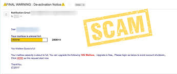 Your Mailbox Quota is Full Email Phishing Scam Hoax Slayer