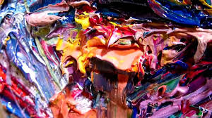 Crazy Painting Expressionist Oil Painting M832 Portrait Outsider Art Crazy Thick