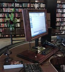 victorianized computer monitor