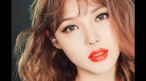 insram makeup paris red lip makeup with subs 인스타 메이크업 파리