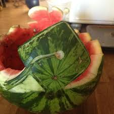 watermelon fruit basket for graduation. Contemporary Watermelon The Other Side Of The Graduation U002712 Watermelon Bowl Alyciau0027s Creation Intended Watermelon Fruit Basket For I