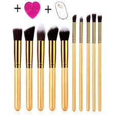 makeup brushes set seplove premium synthetic kabuki foundation face powder blush eyeshadow brush makeup brush