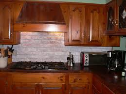 Rustic Kitchen Backsplash Rustic Kitchen Brick Backsplash Ronikordis