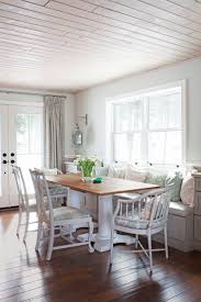 Bright Dining Table With Banquette Seating 119 Round Dining Table ...