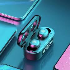 <b>F9</b>-<b>6 TWS Bluetooth</b> 5.0 - <b>Bluetooth</b> Headphones