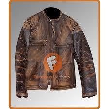 seth green lyle italian job distressed jacket men s leather jackets uk