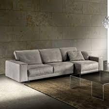 contemporary sofa leather reclining tuxedo by zeno nugari