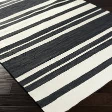 striped flat weave rug striped rug 8 x from blue and white striped flat weave